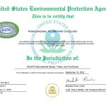 Peak Construction | Toxic Substance Certification