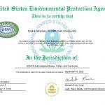 Peak Construction | Toxic Substance Certification