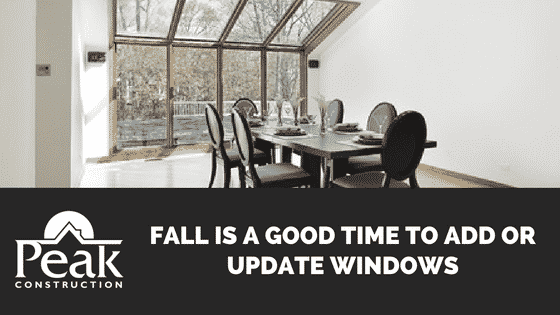 Fall Is A Good Time To Add or Update Windows