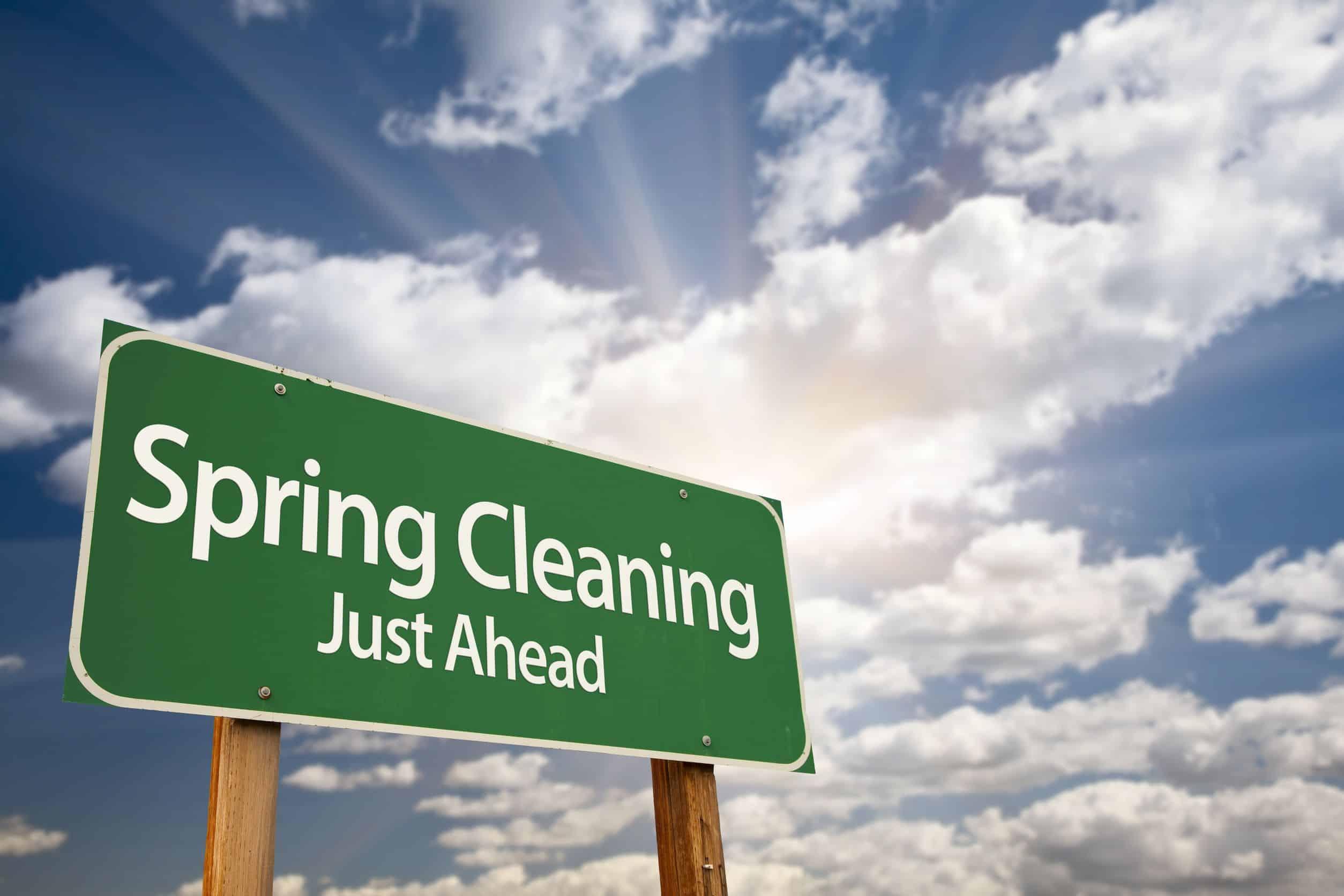 Spring Cleaning Tips | Peak Cosntruciton