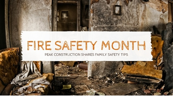 Fire Safety | Peak construction| Fire Damage
