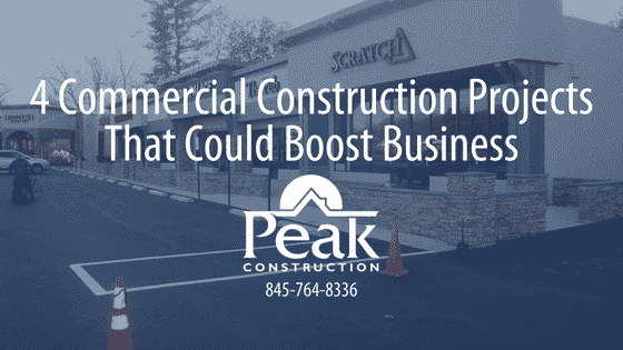 4 Commercial Construction Projects That Could Boost Business