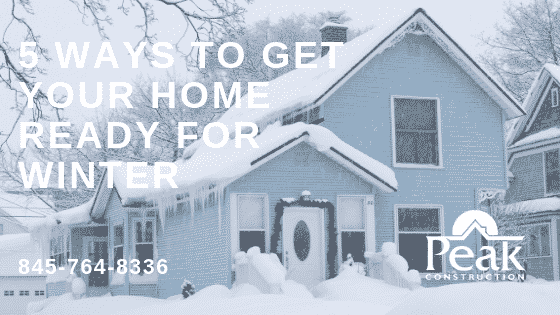 5 Ways to Get Your Home Ready for Winter