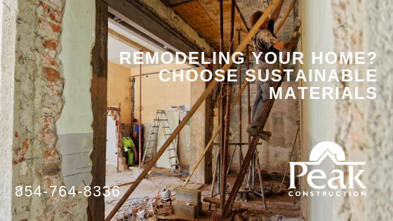 Remodeling Your Home? Choose Sustainable Materials
