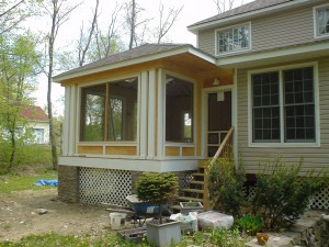 Hopewell Junction Screened Porch