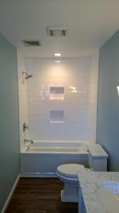 Bathroom remodel | Peak Construction | Hudson Valley | Highland Falls Contractor