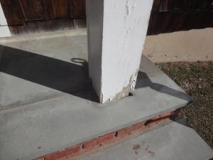 Porch Columns Before